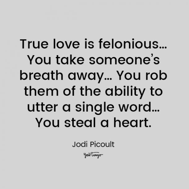 jodi picoult love quote for him