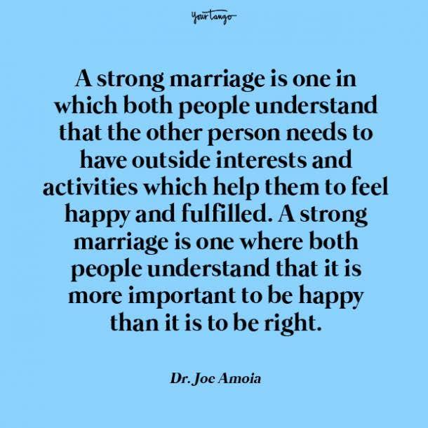 Joe Amoia best marriage tips