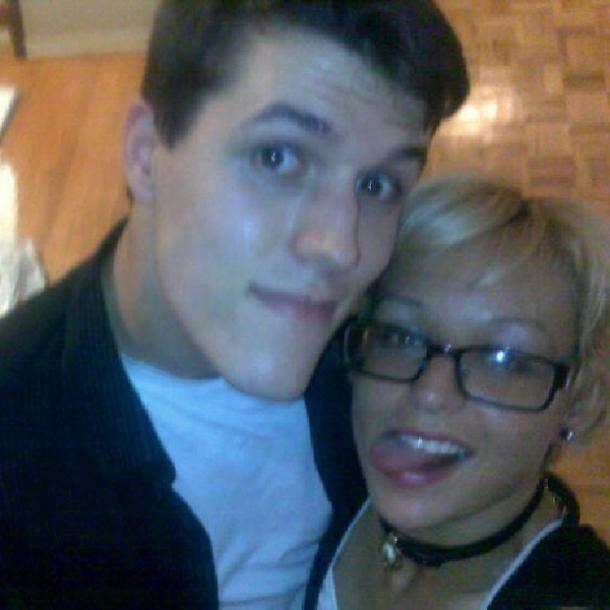 Joshua Barbeau and fiancee Jessica