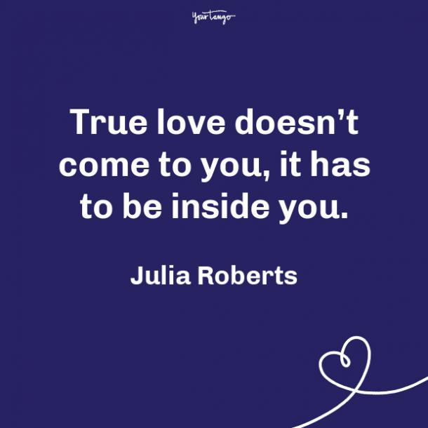 Julia Roberts propose day quote