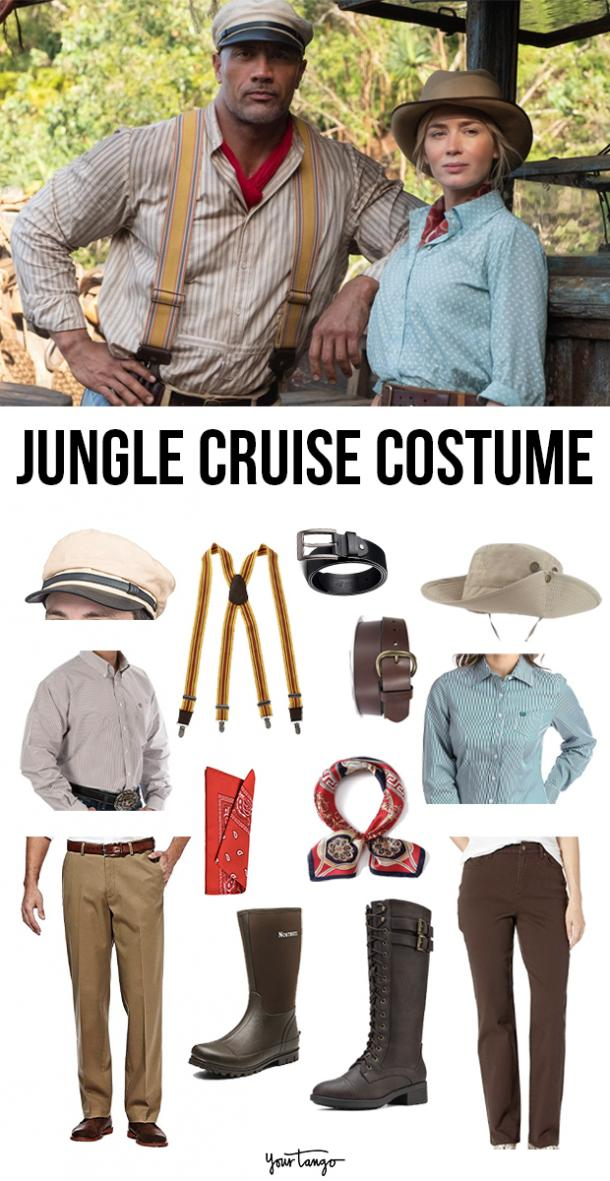 """""""Jungle Cruise"""" Lily and Frank Couples Costume"""