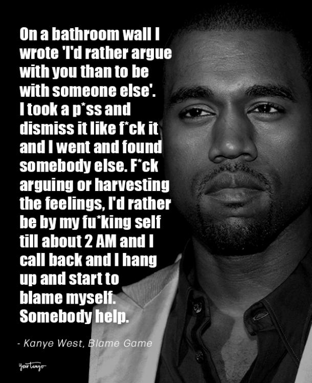 Kanye love quote