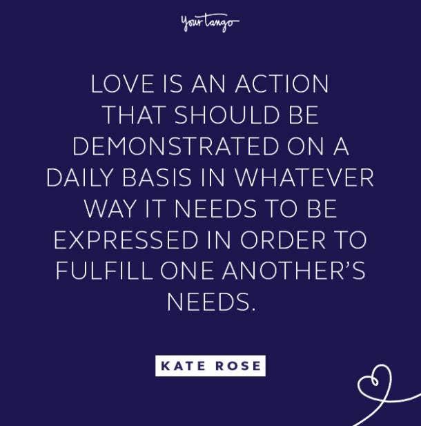 kate rose daily basis quote