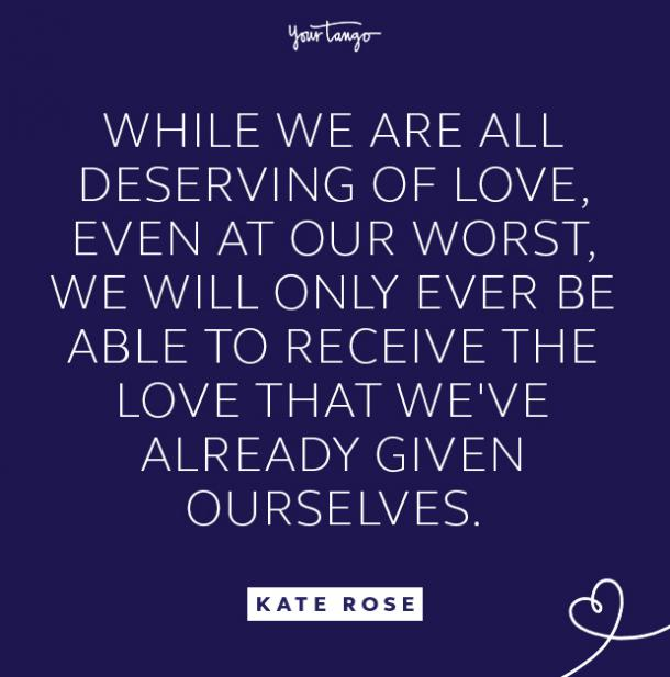 kate rose deserving of love quote