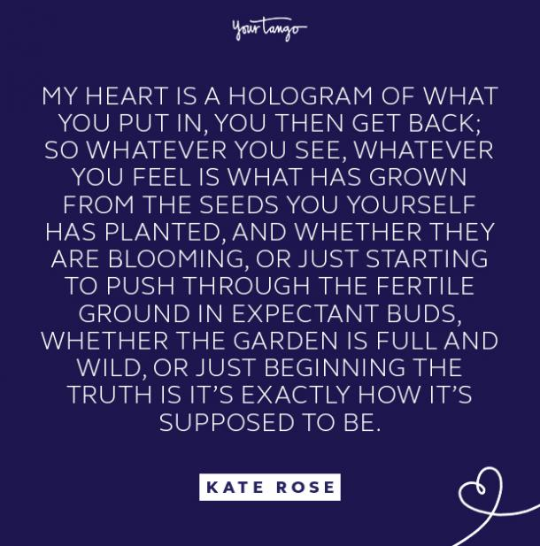 kate rose hologram quote