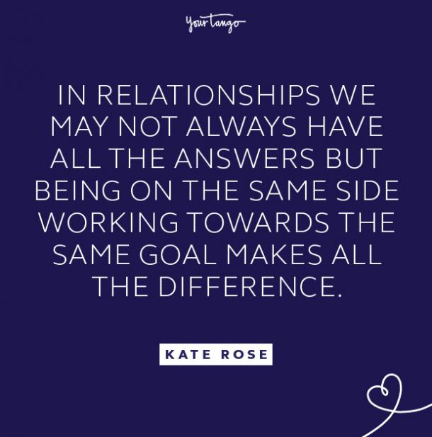 kate rose same side quote