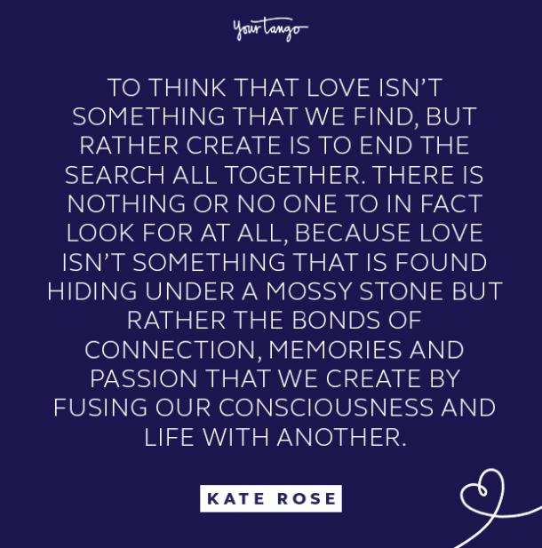 kate rose something we find quote