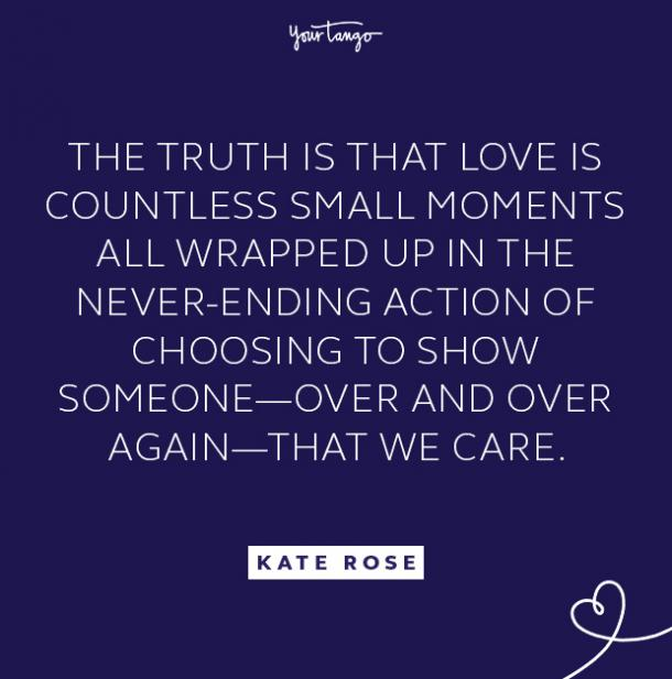 kate rose truth is quote