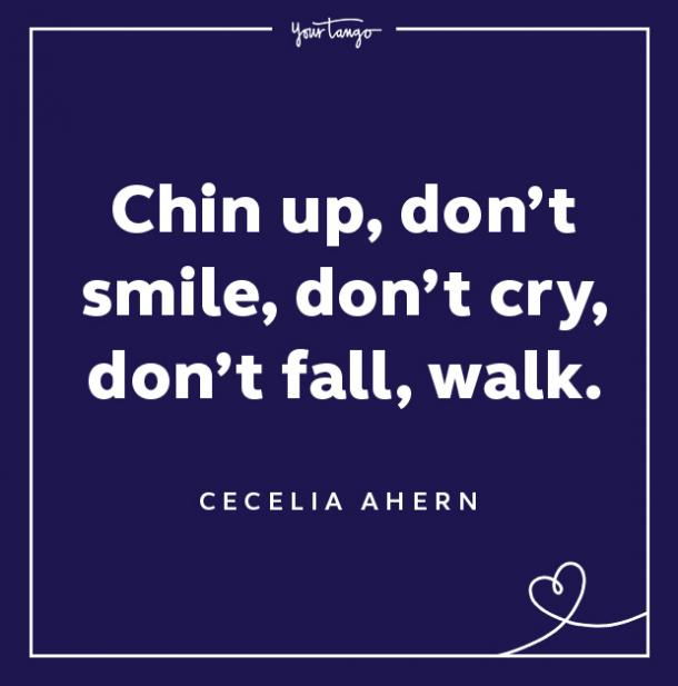 cecelia ahern keep your chin up quotes