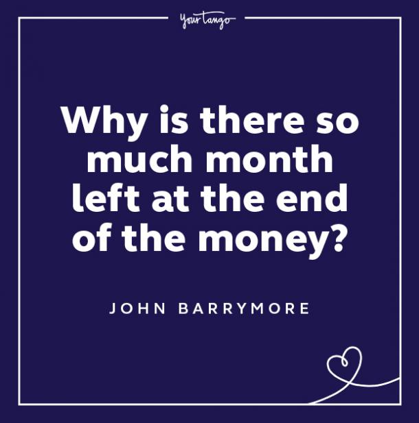 john barrymore keep your chin up quotes