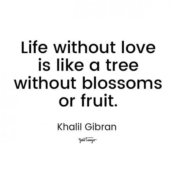 khalil gibran love quote for him