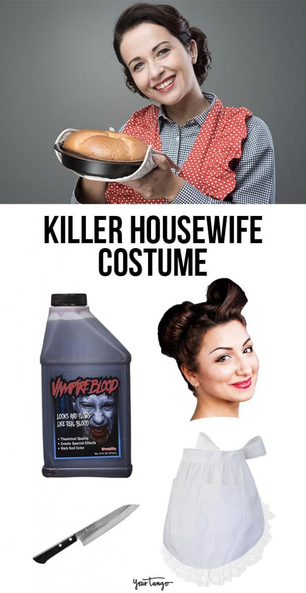 killer housewife last minute halloween costumes