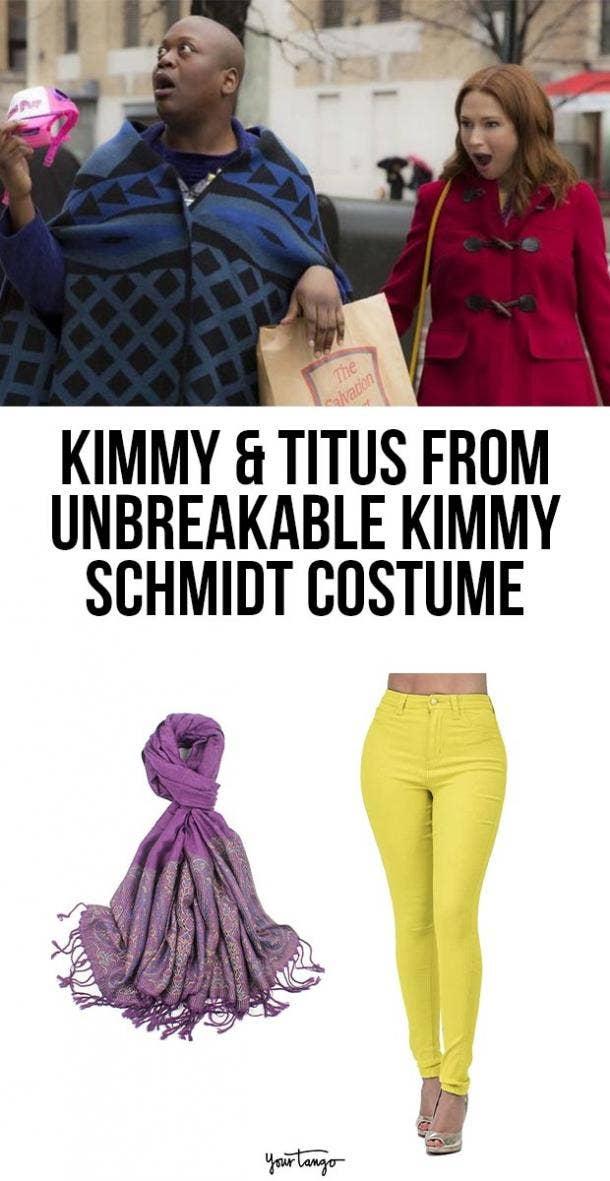 unbreakable kimmy schmidt last minute halloween costumes