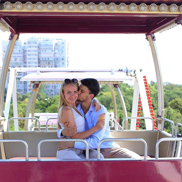 ferris wheel best places to make out