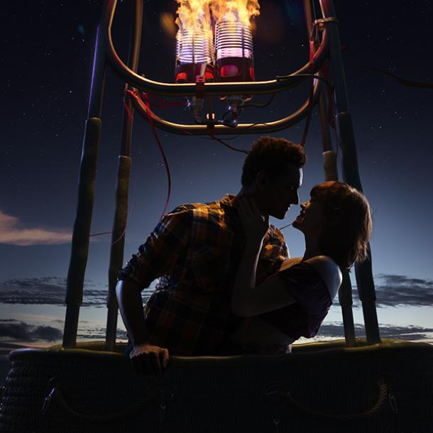 hot air balloon best places to make out