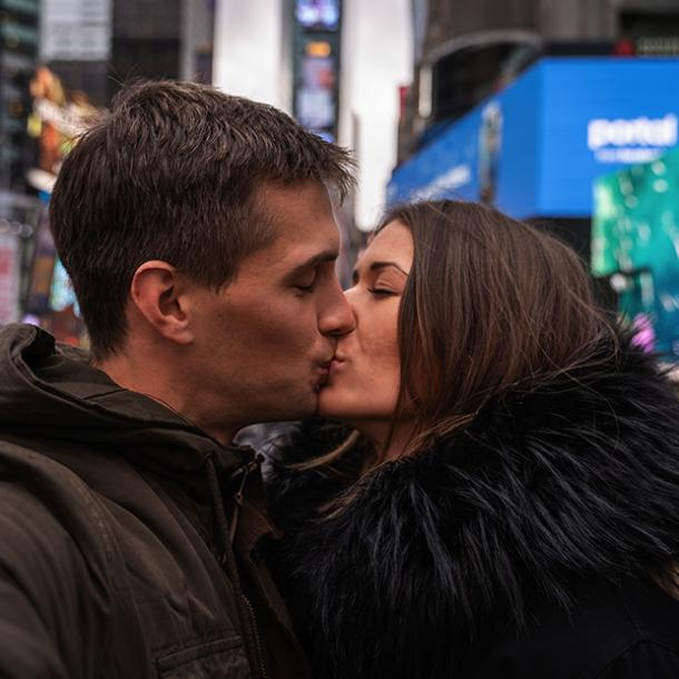 times square best places to make out