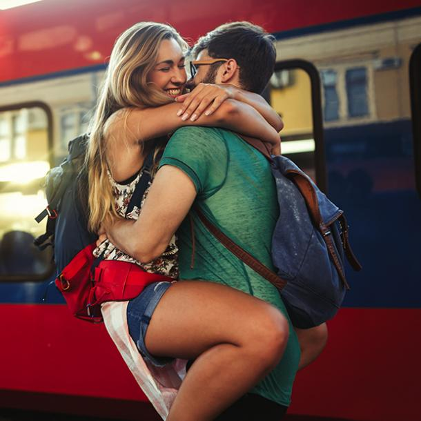 train platform best places to make out