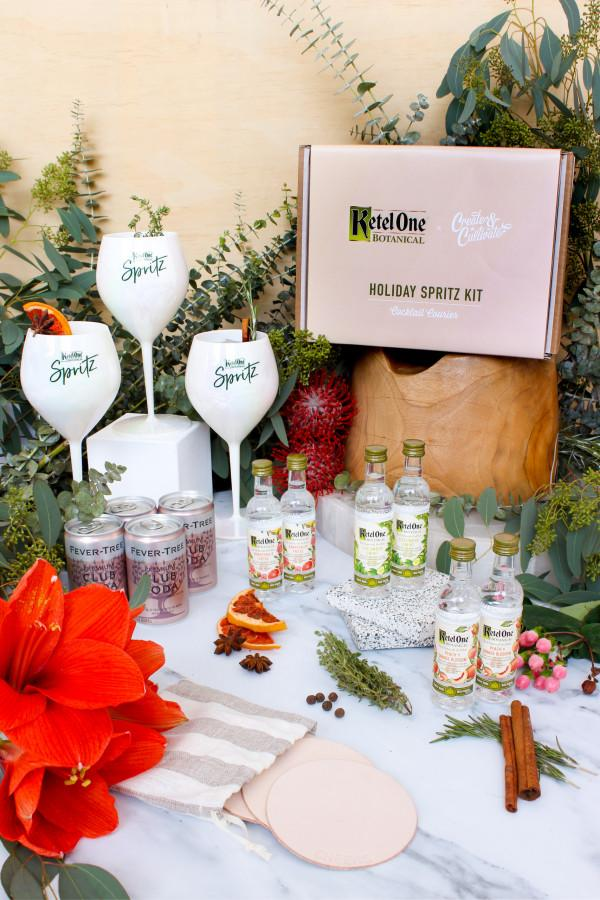Holiday Spritz Kit From Ketel One Botanical