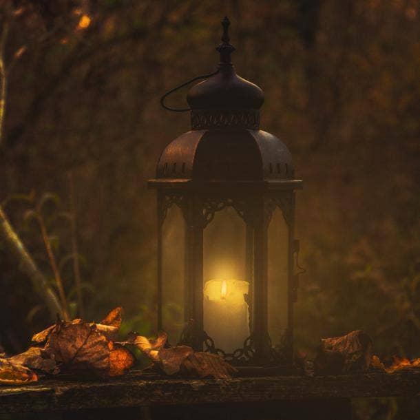 halloween wedding ideas lantern