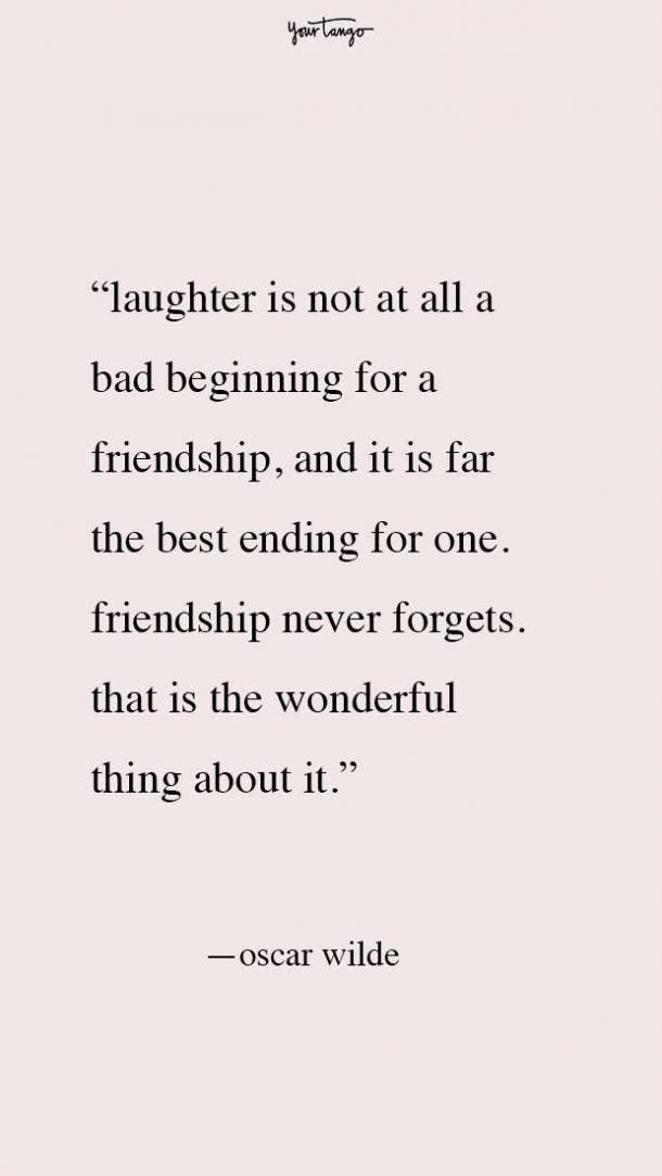 Oscar Wilde best friend fight quotes