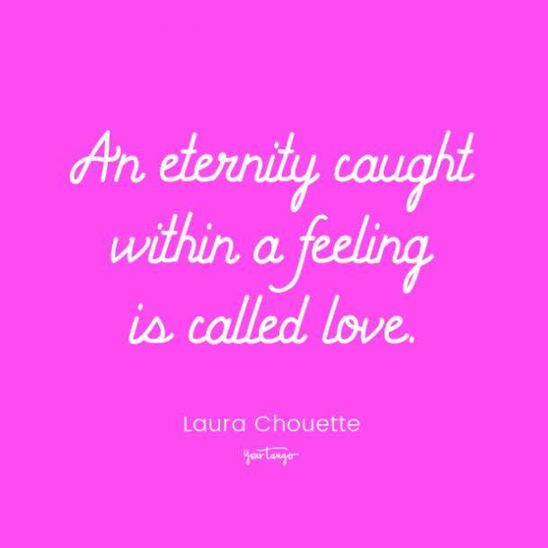 laura chouette romantic quotes