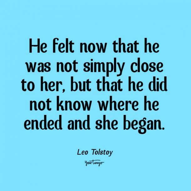 leo tolstoy romantic quotes