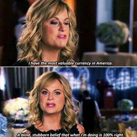 i have the most valuable currency in america leslie knope