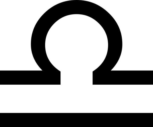 libra glyph