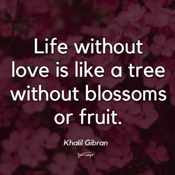 Khalil Gibran i love you quote