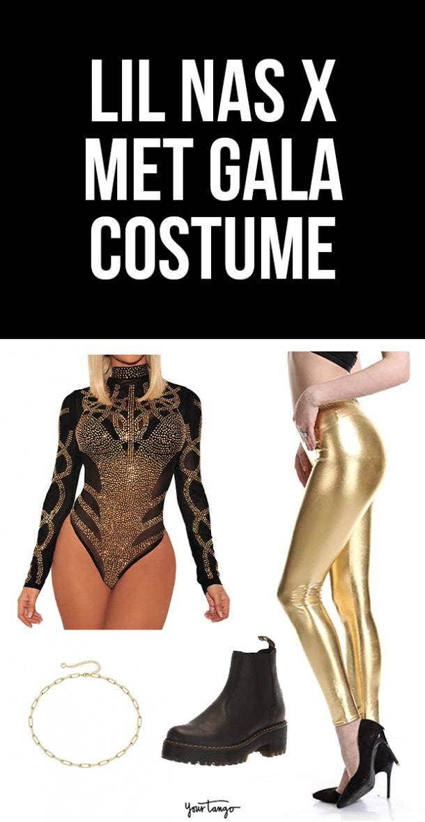 Lil Nas X in Atelier Versace Halloween Costume Idea
