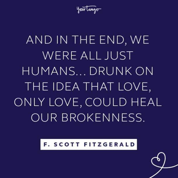 F. Scott Fitzgerald literary quotes