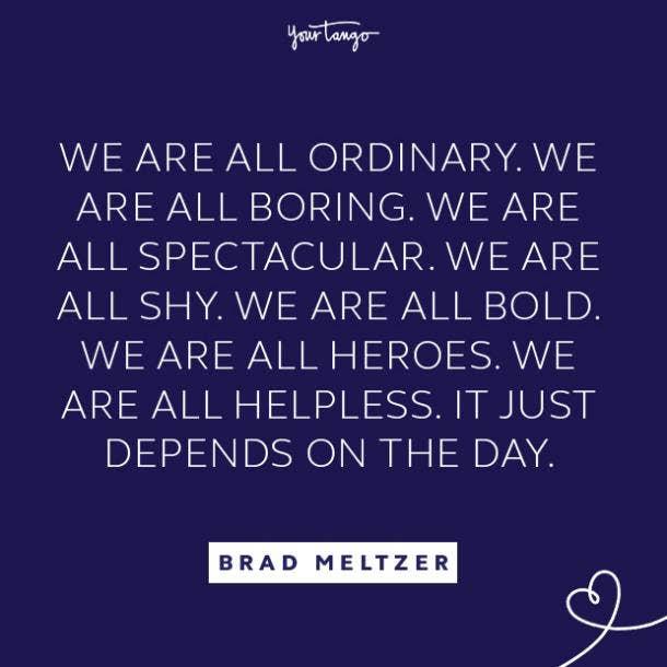 Brad Meltzer literary quotes