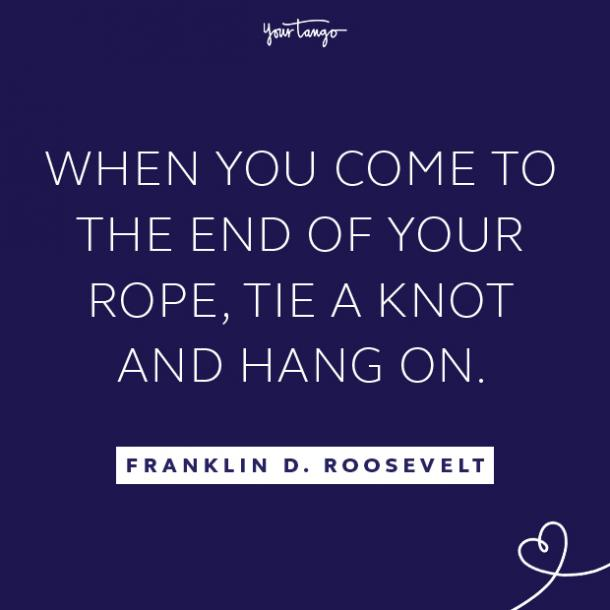 Franklin D. Roosevelt literary quotes