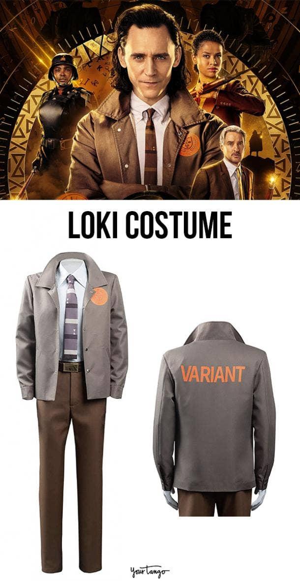 Loki 2021 TVA Suit Costume