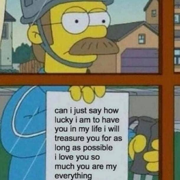 love meme ned flanders simpsons