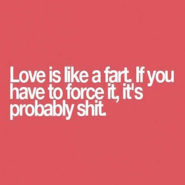 love meme love is like a fart
