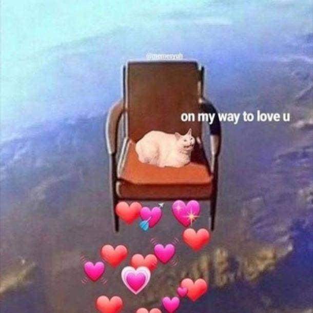 love meme on my way to love u