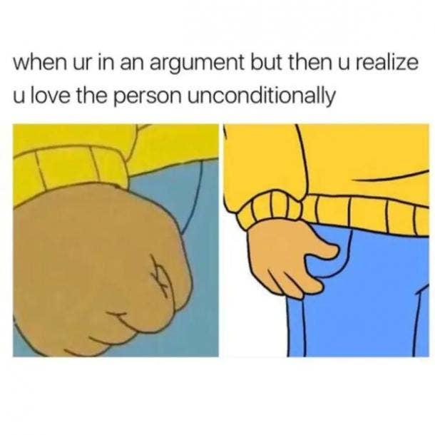 love meme arthur