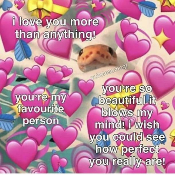 love memes i love you more than anything