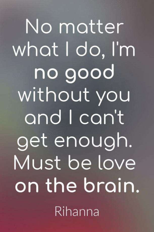 Love On The Brain love song lyrics