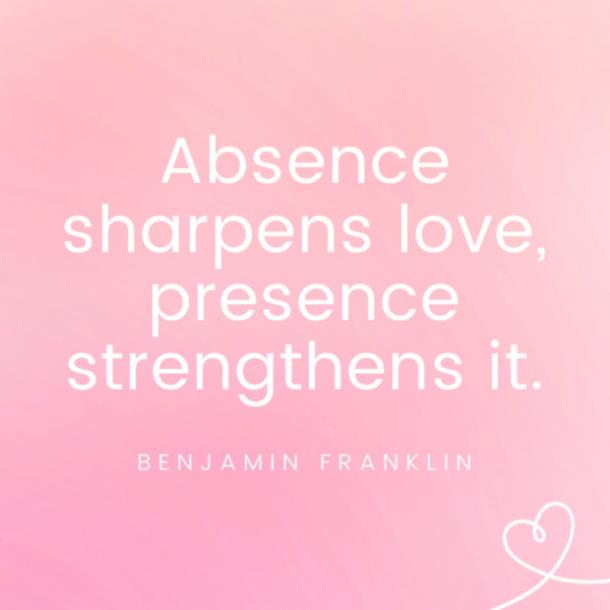 Benjamin Franklin famous love quotes