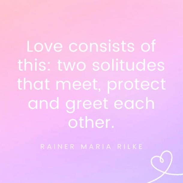 Rainer Maria Rilke famous love quotes