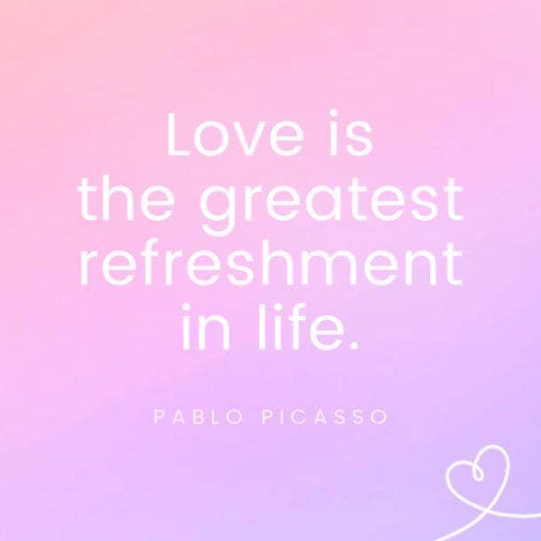 Pablo Picasso famous love quotes