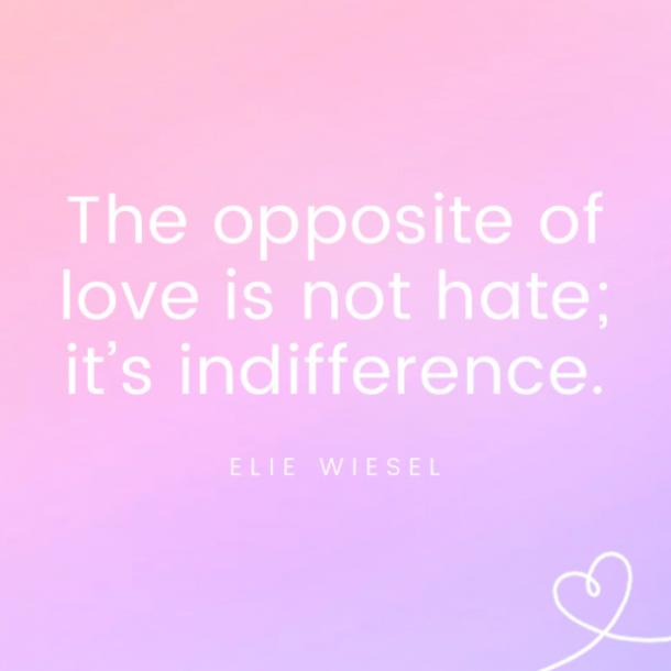 Elie Wiesel famous love quotes