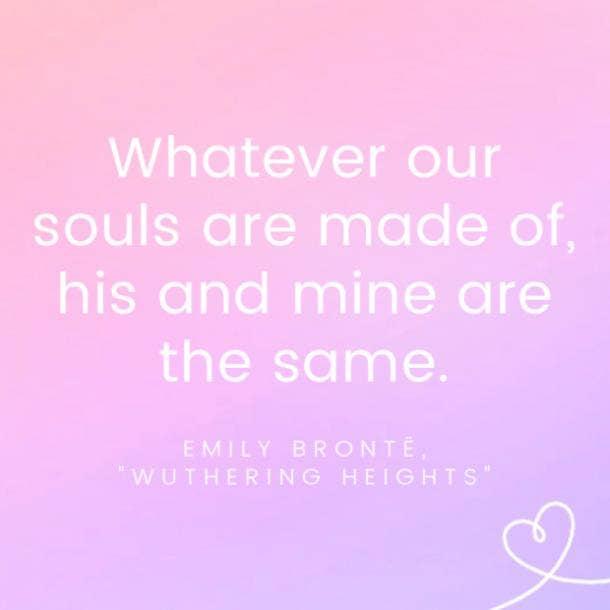 Emily Brontë famous love quotes