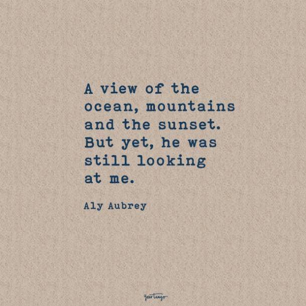 Aly Aubrey sweet love quotes