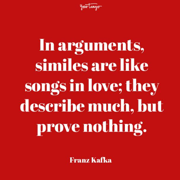 franz kafka prove your love quotes
