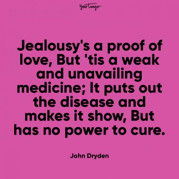 jealousys prove your love quotes