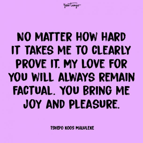 no matter prove your love quotes