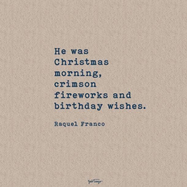 Raquel Franco sweet love quotes
